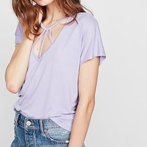 Express One Eleven Strappy Tee
